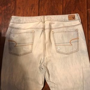 American Eagle Outfitters Jeans - American Eagle boy fit distressed Capri jeans